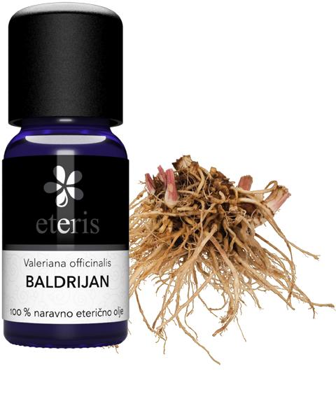 Baldrijan eterično olje Eteris