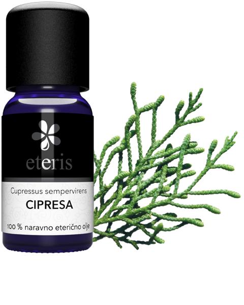 Cipresa eterično olje Eteris